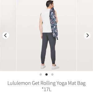 LULULEMON GET ROLLING YOGA MAT BAG